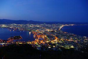 函館の旅 函館山からの夜景
