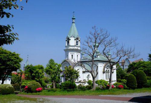 函館の旅 ハリストス正教会
