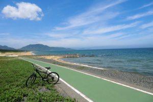福岡県芦屋 サイクリング道路