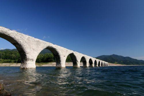 北海道十勝 タウシュベツ橋