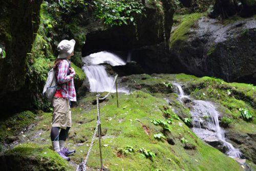 和歌山県熊野エリア 百間山渓谷