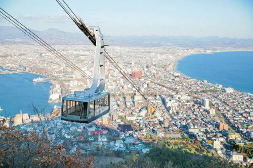 函館の旅 函館山からの眺望