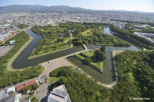 函館の旅 五稜郭公園