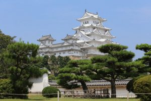 姫路 姫路城(改修後)西の丸から