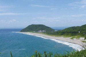 愛知県 渥美半島 恋路ヶ浜 大石海岸(太平洋ロングビーチ)